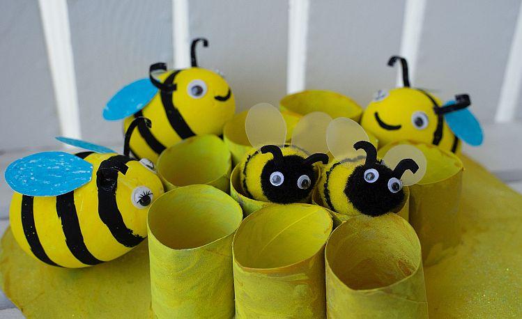 Pszczoła Diy Coś Ciekawego Dla Dzieci
